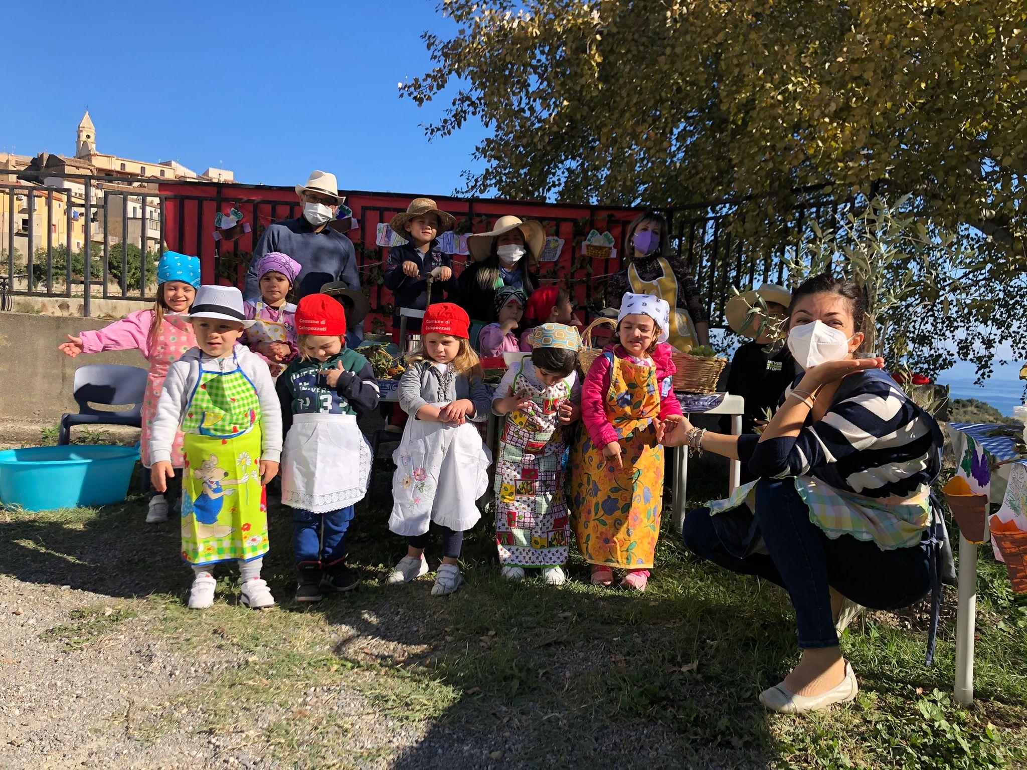Festa della vendemmia 2021 - infanzia Calopezzati